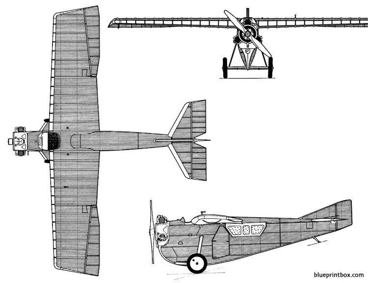 tupolev ant 2 model airplane plan