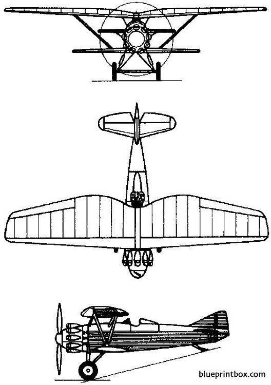 tupolev ant 5  i 4 1927 russia model airplane plan