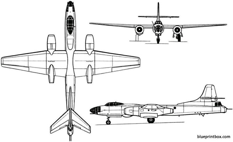 tupolev tu 14 tu 81 1947 russia model airplane plan