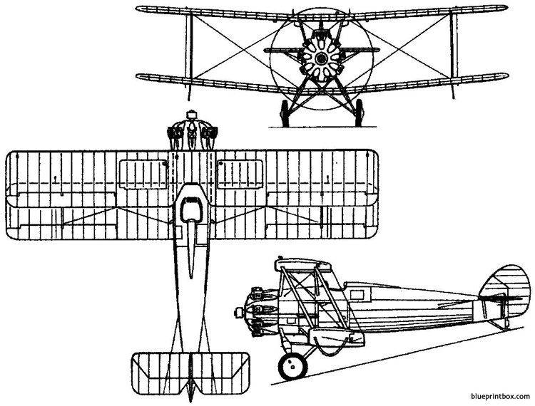 vickers 143 1929 england model airplane plan