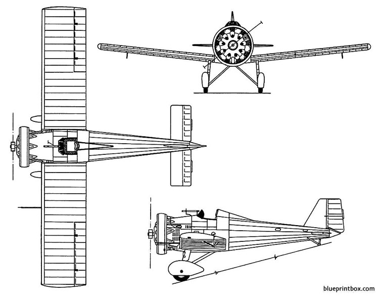 vickers 151jockey model airplane plan