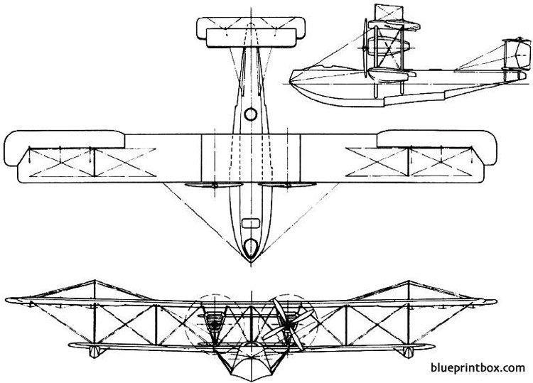 vickers valentia 1921 england model airplane plan
