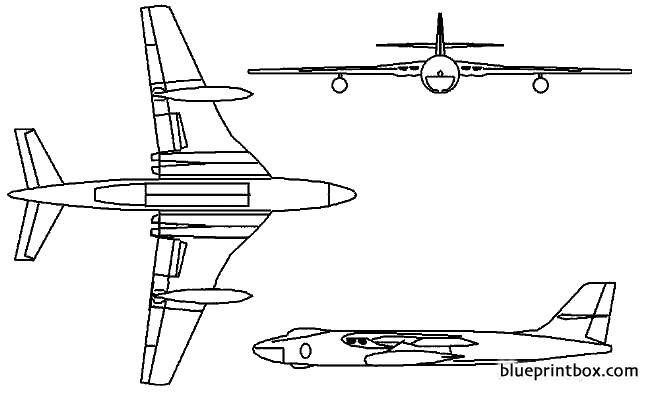 vickers valiant model airplane plan