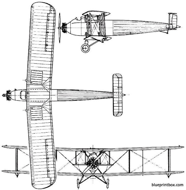 vickers vellore 1928 england model airplane plan