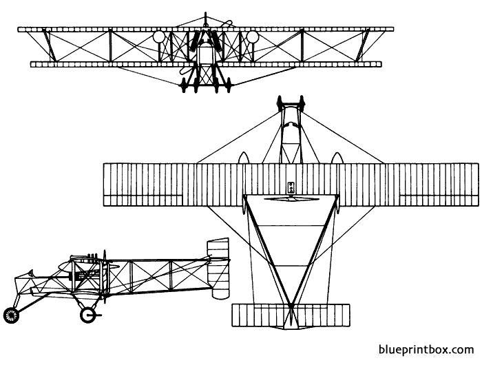 voisin type 8 model airplane plan