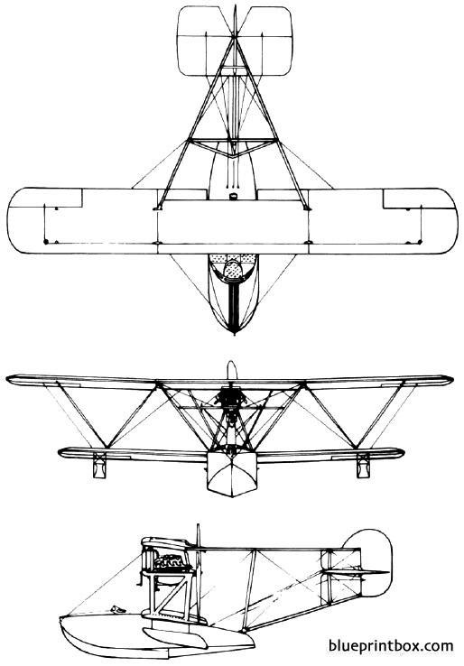 vought ve 10 1919 usa model airplane plan