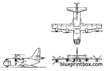 vought xc 142a 2 model airplane plan