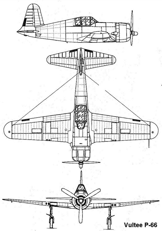 vulteep66 1 3v model airplane plan