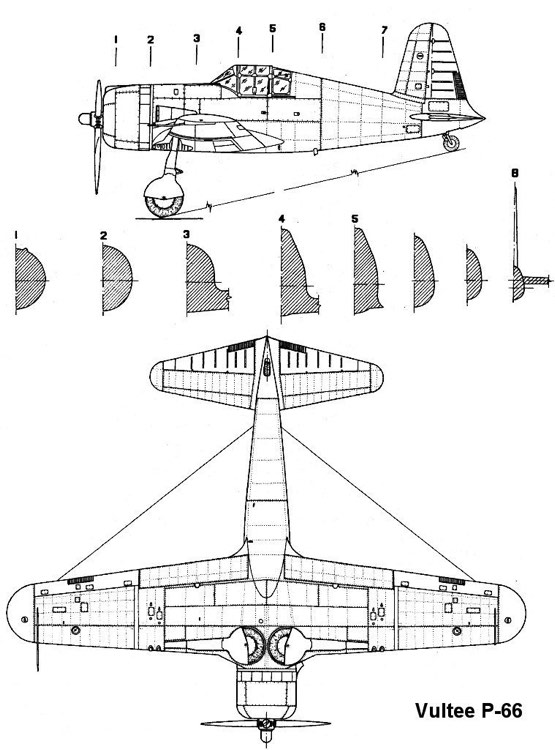 vulteep66 2 3v model airplane plan