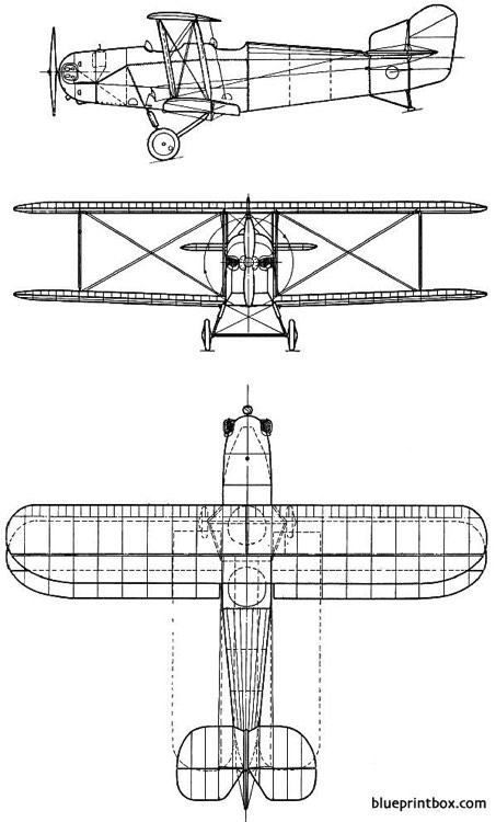 westland woodpigeon 1924 england model airplane plan