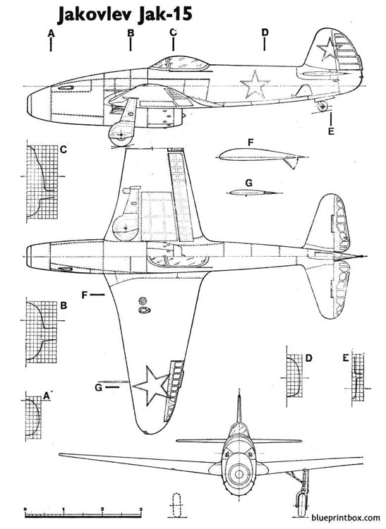 yak15 feather model airplane plan