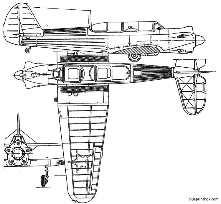 yakovlev yak 18 model airplane plan