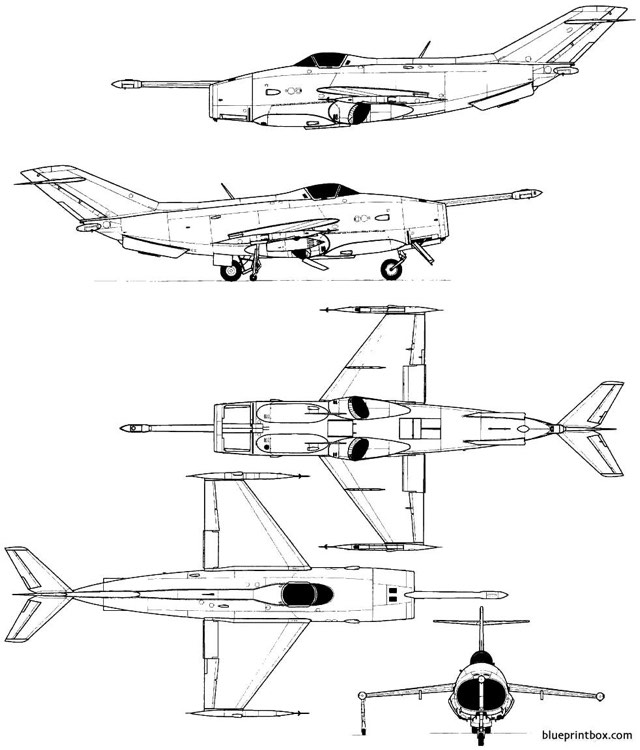 yakovlev yak 36 freehand model airplane plan