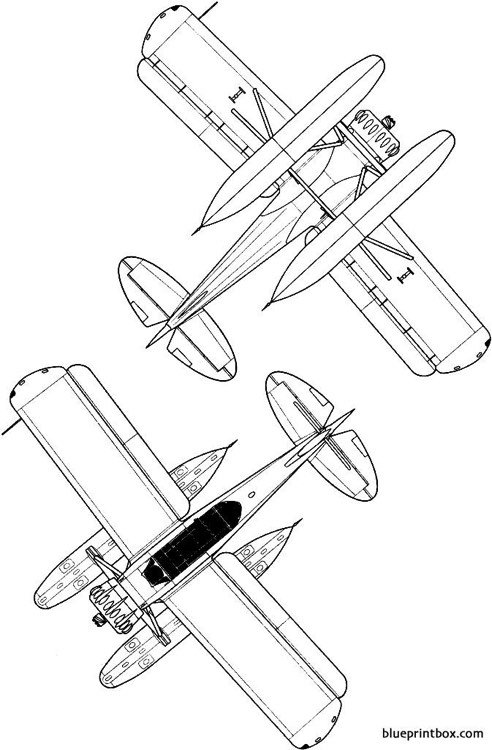 yokosuka e14y1 glen 2 model airplane plan
