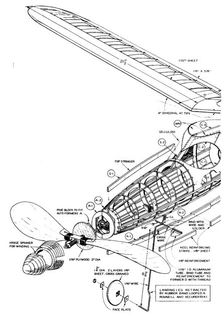 smooth2b model airplane plan