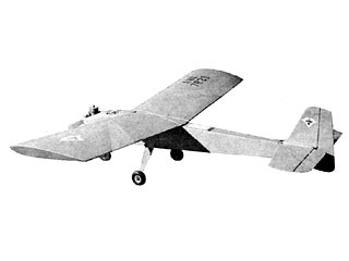 Aristo-Cat  model airplane plan