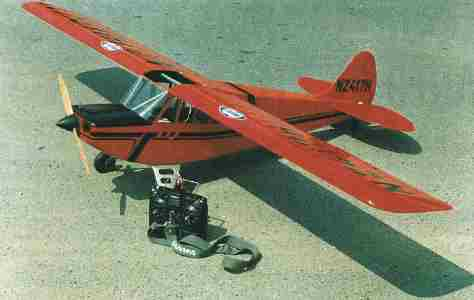 Aviat Husky A-1 model airplane plan