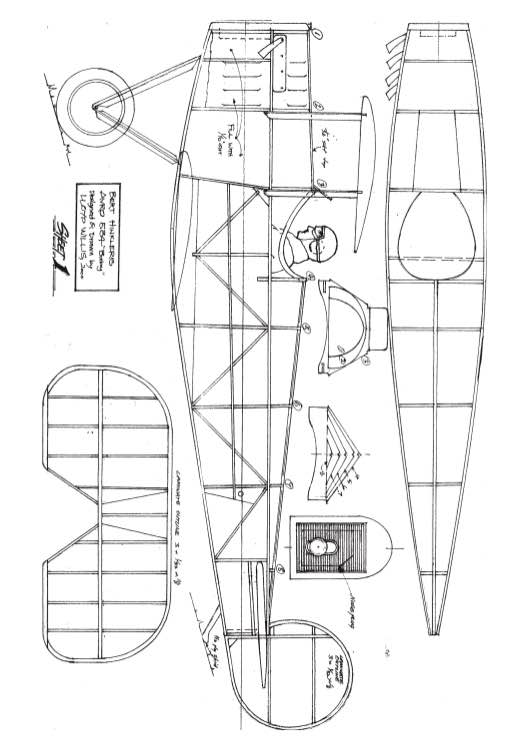 Baby model airplane plan