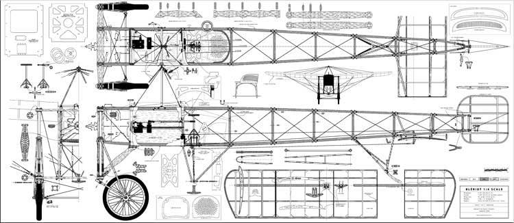 Bleriot 2 Plans - Aerofred