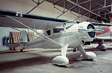 Monocoupe model airplane plan