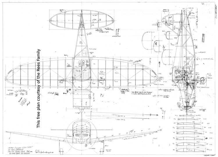Culver STF Cadet model airplane plan