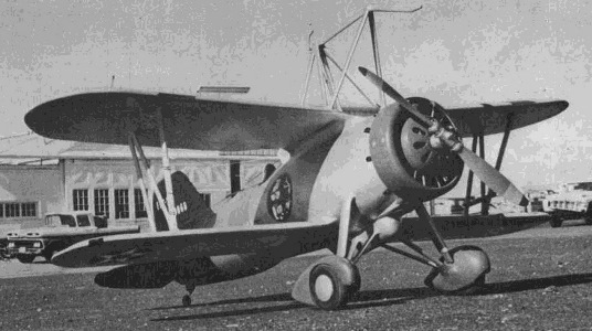 Curtiss F9C-2 model airplane plan