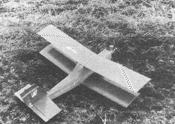 Dobrak model airplane plan