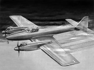 Duellist MkII  model airplane plan