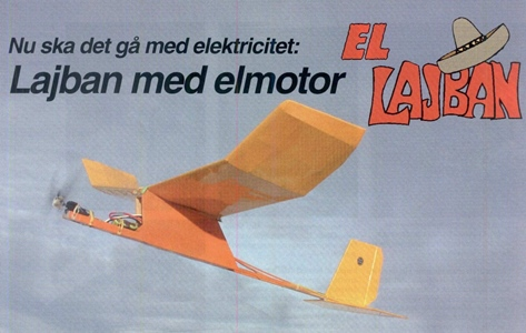 El Lajban model airplane plan