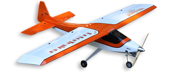 ENTER TRAINER model airplane plan