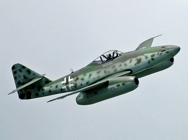 Messerschmitt Me 262 model airplane plan