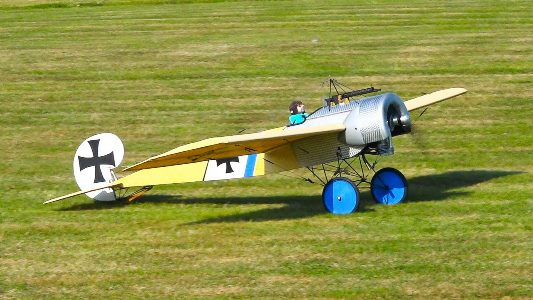 Fokker E.III model airplane plan