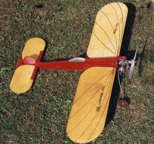 Glo Bug model airplane plan