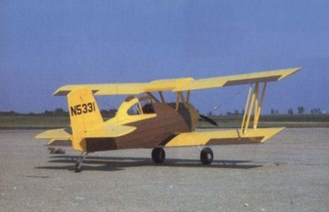 Grumman AG-Cat model airplane plan