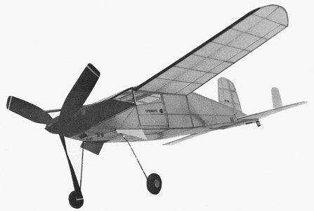 Hyperwind model airplane plan