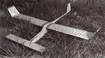 Kacer 2 model airplane plan