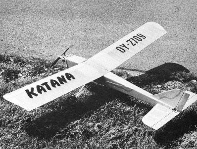 Katana model airplane plan