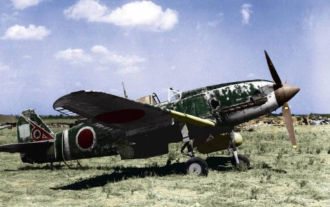 Kawasaki Ki-61 Hien model airplane plan