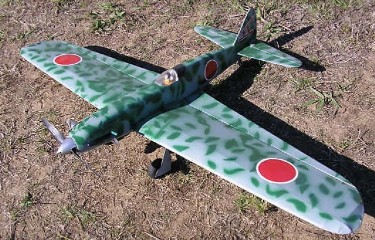 Ki-61 Kawasaki Tony model airplane plan