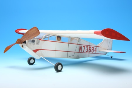 Lacey M-10 model airplane plan