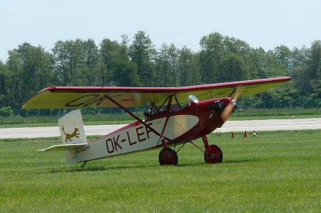 Letov S-39 model airplane plan
