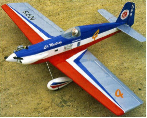 Li'l Mustang model airplane plan