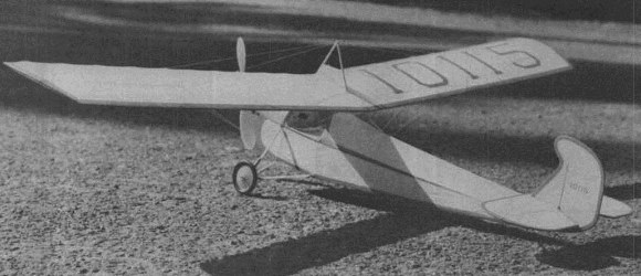 Longster model airplane plan