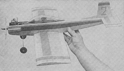 Martin model airplane plan