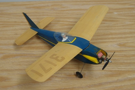 Minnie Most model airplane plan