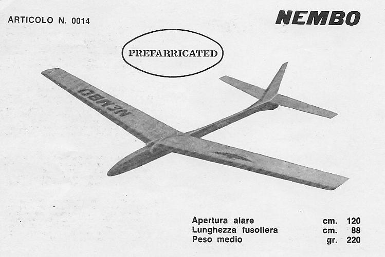 Nembo model airplane plan