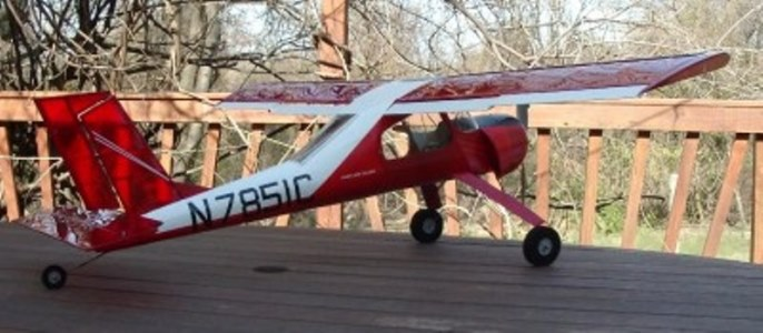 PZL-104 Wilga 80AeroFred - Free Model Airplane Plans