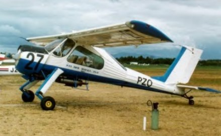 PZL 104 Wilga model airplane plan
