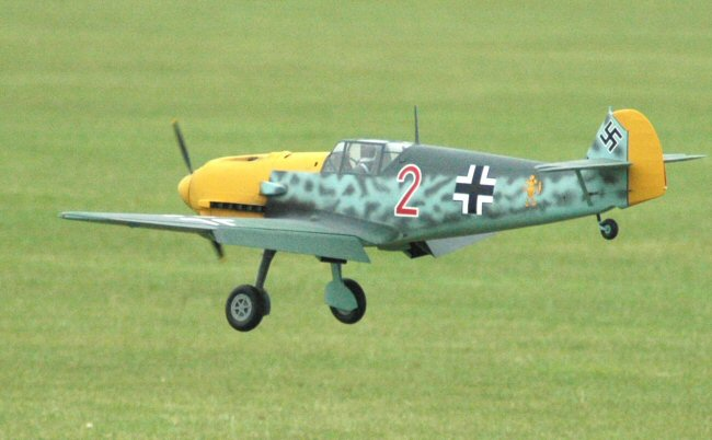 Messerchmitt Me 109 model airplane plan