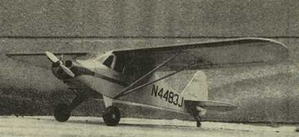 Piper PA-15 Vagabound model airplane plan